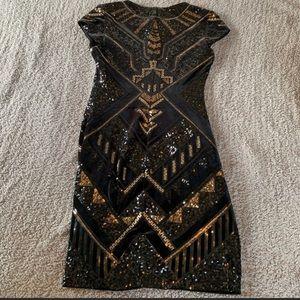 Express sequence dress